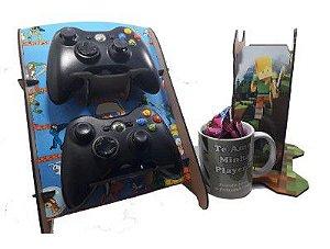 Kit Presente para Namorados Gamers - Dia dos Namorados