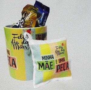 Kit Presente Personalizado Dia da Mães - Caneca + Chocolates