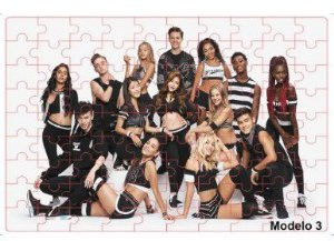 Quebra-cabeça com fotos do grupo Pop Now united - 48 peças