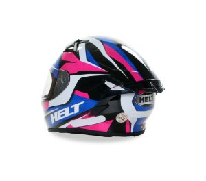 Capacete HELT Aero Pink/Azul