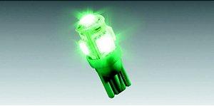 Lâmpada LED Verde (5 LEDs)