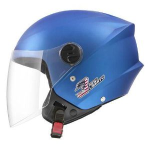 Capacete Aberto Pro Tork New Liberty Three Elite Azul