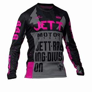Camisa Jett Factory Edition 3 rosa
