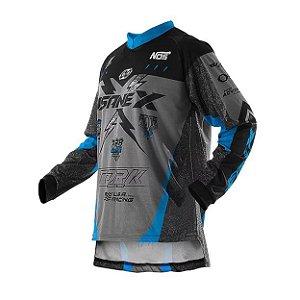 Camisa Pro Tork Insane X  Azul Preta
