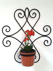 Porta Vaso Floreira Colonial, Em Aço Maciço de 6mm .