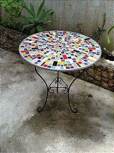 Pés de mesa para tampo de Mosaico.