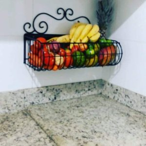 Fruteira de Parede com Arabesco 50x25cm