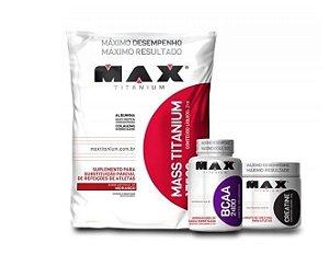 Kit Ganho de Peso MAX TITANIUM