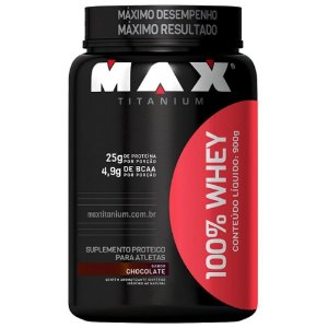 100% Whey Protein Chocolate - Max Titanium