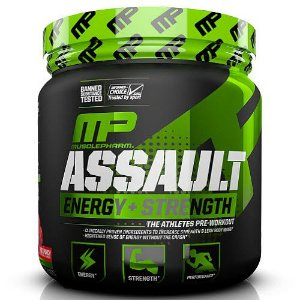 Assault - Muscle Pharm GREEN APPLE 333g
