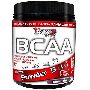 Bcaa Powder Iron Man - 200g - New Millen