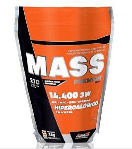 Mass Premium 14.400 - 3kg - Chocolate New Millen