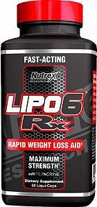 Lipo 6 Rx (60 caps) - Nutrex