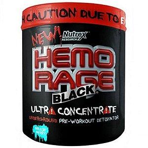 Hemo Rage Black Ultra Concentrado Sucker Punch 50 Doses - Nutrex