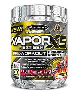 Nano Vapor X5 30 doses - MuscleTech Frutas Vermelhas