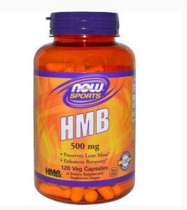 HMB 500MG (120 CÁPSULAS) - NOW FOODS Suplemento