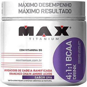 BCAA 4:1:1 Drink Uva 280g - Max Titanium