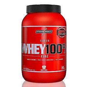 Super Whey 100% Pure - 907g  IntegralMédica Chocolate