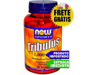 TRIBULUS TERRESTRIS 1000MG (90 CÁPSULAS) - NOW FOODS
