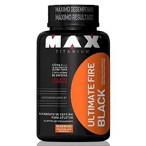 Ultimate Fire Black - 120 Cápsulas - Max Titanium
