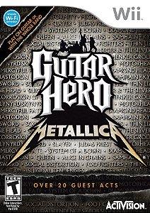 Wii - Guitar Hero: Metallica