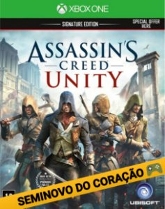 Xbox One - Assassins Creed Unity - Seminovo
