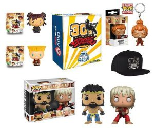Pop Funko Street Fighter: Pack Especial 30 anos
