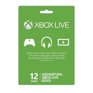 Xbox Live Gold BR 12 Meses