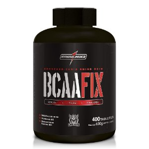 BCAA FIX - 400 TABS - (DARKNESS) INTEGRALMÉDICA