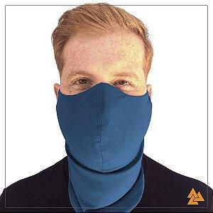 Máscara para Barbudos Azul Petróleo
