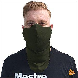 Máscara para Barbudos Verde Militar