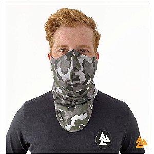 Máscara para Barbudos Estampa Camuflada