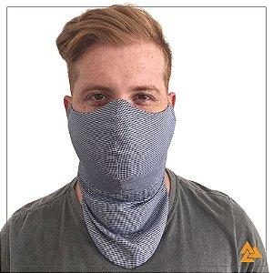 Máscara para Barbudos Estampa Pied Poule