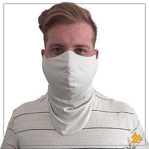 Máscara para Barbudos Estampa Bambu Xadrez
