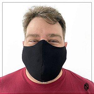 Máscara Tradicional Masculina para Barba Curta cor Preta