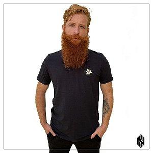 Camiseta Classica Soulnord Valknut Cor Preta