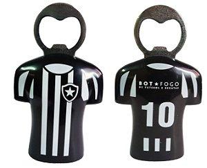 Abridor de Garrafa com Ímã Botafogo