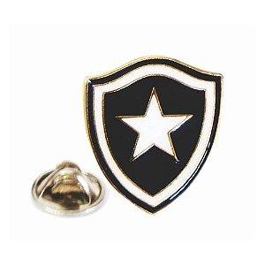 Boton Escudo Dourado Botafogo