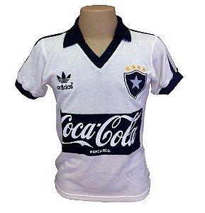 Camisa Retrô Botafogo  Branca 1988 Coca Cola