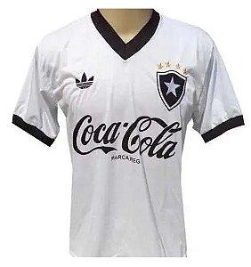 Camisa Retrô Botafogo Anos 80 Branca