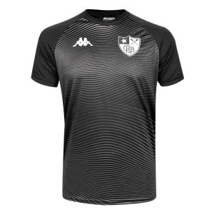 Camisa Botafogo Waves Supporter Kappa Masculina - Preto