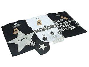 Kit 3 Camisas + 4 Produtos