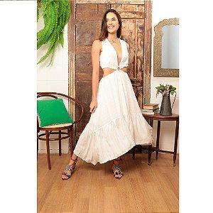 Vestido Catrina Off White Aline Mezzari