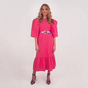 Midi Dress Poplin Tob