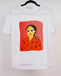 T-SHIRT TEE WOMA Esmeral