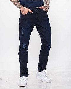 Calça Jeans Escuro Oksys REF 08956