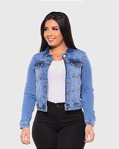 Jaqueta Jeans Feminina c/ Lycra REF 09055