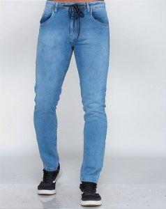 Calça Jeans Masculina Oksys Runner c/ Cordão Clara REF 09031