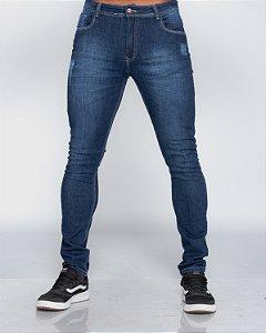 Calça Jeans Oksys Skinny c/ Puidos REF 09094