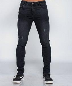 Calça Jeans Preto Oksys REF 09109